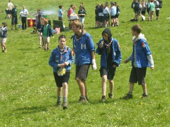 Scouts au Gerfaut 2011